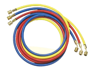 "Robinair Enviro-Guard Hose Set- 36"" (Red, Blue & Yellow)"