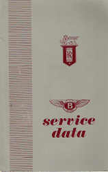 Rolls-Royce Silver Cloud I/S1 Service Data Technical Manual