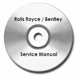 Rolls-Royce Pre-War Service Instructions Technical Manual on CD-ROM