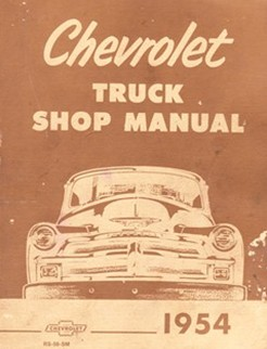 1954 Chevrolet Truck Factory Shop Manual