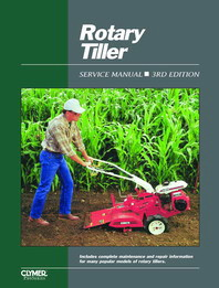 1989 and Earlier Rotary Tiller Clymer Service Manual