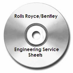 Rolls-Royce Silver Wraith Engineering Drawings on CD-ROM