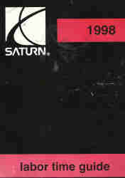 1998 Saturn Labor Time Guide