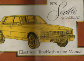 1978 Cadillac Seville Electrical Troubleshooting Manual