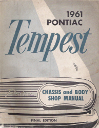 1961 Pontiac Tempest Factory Service Manual