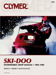 1985-1989 Ski-Doo Snowmobile Clymer Repair Manual