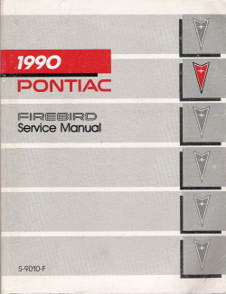 1990 Pontiac Firebird Factory Service Manual