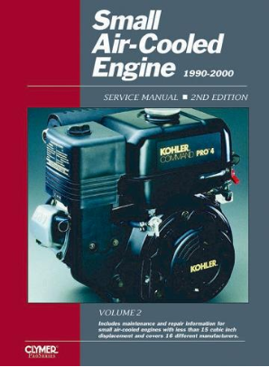 1990 - 2000 Small Air-cooled Engine Clymer Service Manual, Volume 2, 2nd Edition