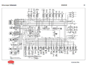 Peterbilt UltraSleeper Complete Wiring Diagram Schematic, Laminated