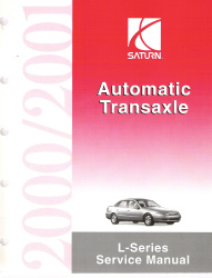2000-2001 Saturn L-Series: LS & LW Factory Service Manual