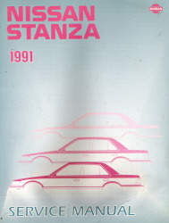 1991 Nissan Stanza Factory Service Manual
