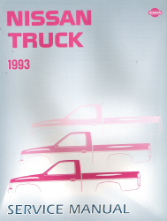 1993 Nissan Truck Factory Service Manual