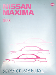 1993 Nissan Maxima Factory Service Manual
