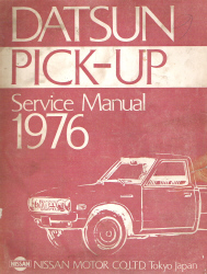 1976 Datsun Pick-up 620 Series Factory Service Manual