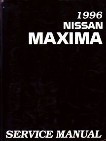 1996 Nissan Maxima Factory Service Manual