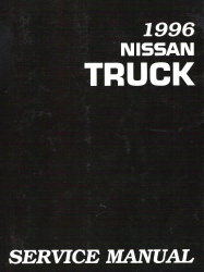 1996 Nissan D21 Series Truck Factory Service Manual