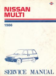 1986 Nissan Multi M10 Series Factory Service Manual