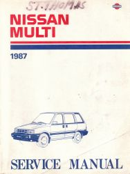1987 Nissan Multi M10 Series Factory Service Manual
