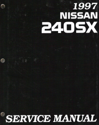1997 Nissan 240SX Factory Service Manual