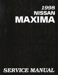 1998 Nissan Maxima Factory Service Manual