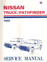 1988 Nissan Truck/Pathfinder Factory Service Manual