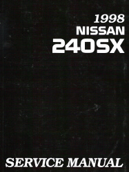 1998 Nissan 240SX Factory Service Manual