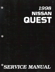 1998 Nissan Quest Factory Service Manual