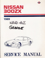 1989 Nissan 300ZX Factory Service Manual