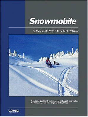1962 - 1986 Snowmobile Service Manual Clymer Repair Manual, 11th Edition