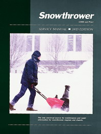 1989 and Earlier Snowthrower Clymer Service Manual