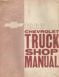 1963 Chevrolet Truck Factory Shop Manual
