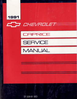 1991 Chevrolet Caprice Factory Service Manual