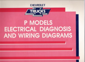 1992 Chevrolet GMC P Models Electrical Diagnosis & Wiring Diagrams