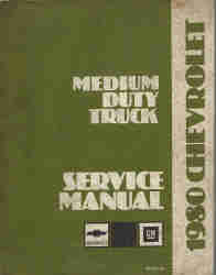 1980 Chevrolet Medium Duty Truck Service Manual