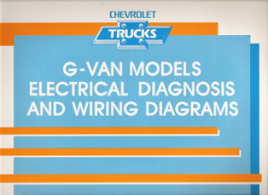 1991 Chevrolet GMC G-Van Models Electrical Diagnosis & Wiring Diagrams
