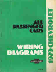 1979 Chevrolet Passenger Car Wiring Diagrams