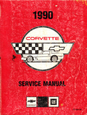 1990 Chevrolet Corvette Factory Service Manual