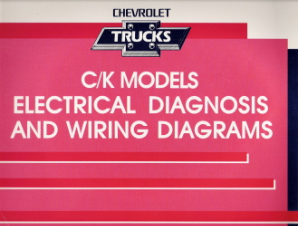 1992 Chevrolet GMC C/K Models Electrical Diagnosis & Wiring Diagrams
