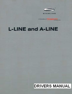 Sterling A-Line Factory Drivers Manual
