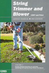 1997 and Earlier String Trimmer and Blower Clymer Service Manual