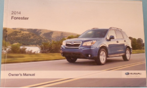 2014 Subaru Forester Owners Manual