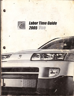 2005 Saturn Vue Labor Time Guide