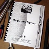 New Idea 324, 325 Tractor Parts and Operator Manual