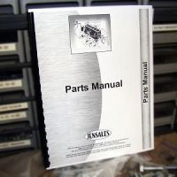 McCormick Deering O-4, OS-4, W-4 Tractor Parts Manual