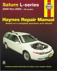 2000 - 2004 Saturn L-Series: All Models, Haynes Repair Manual