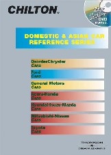 1981 - 2000 Chilton All Domestic & Import Car DVD-ROM Set: (Access to All Vehicles)