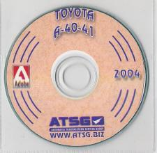 Toyota, Volvo A40 Series Transmission Rebuild Manual - CD-ROM (A41, A40D, A43D, etc)