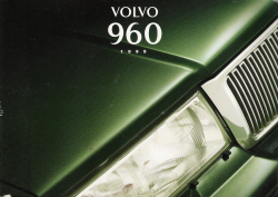 1995 Volvo 960 Series Owner's Manual