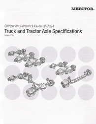Meritor Truck and Tractor Axle Specifications