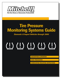 2008 Mitchell1 Tire Pressure Monitoring Systems Guide